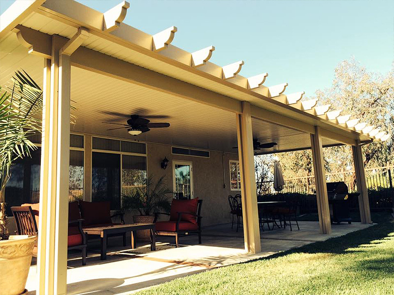 We build custom patio covers in Haltom City, TX and throughout the DFW Metroplex